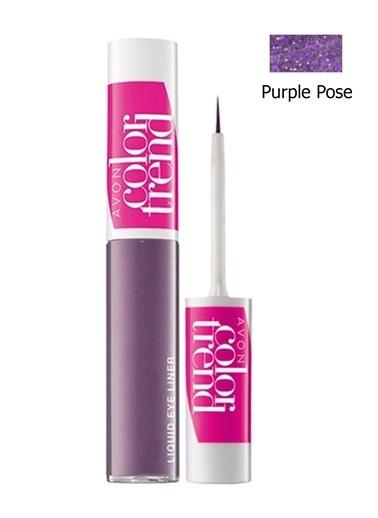 Avon Color Trend Likit Eyeliner Purple Pose Mor